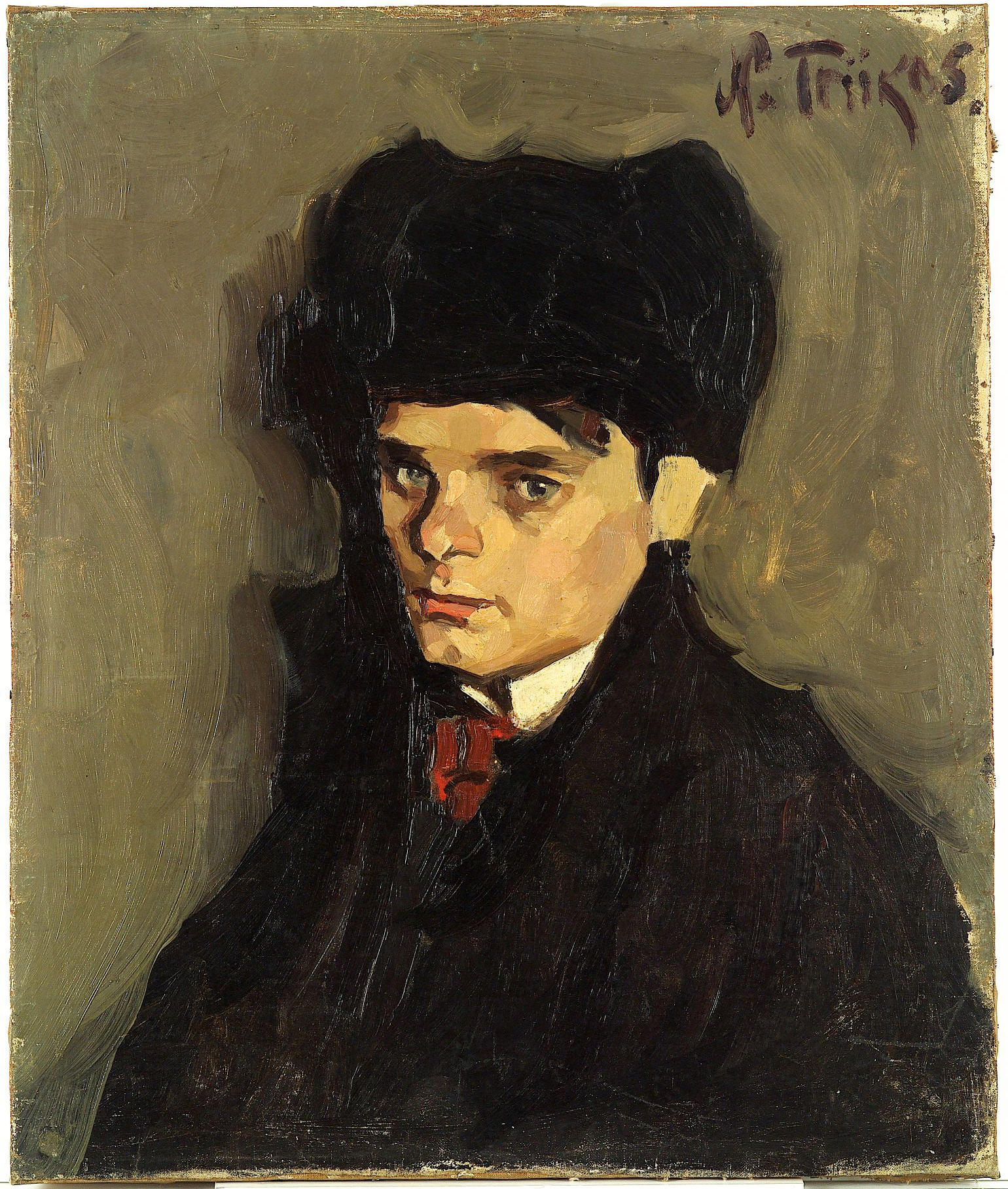ALEKSANDER TASSA PORTREE | 1915 | ÕLI LÕUENDIL