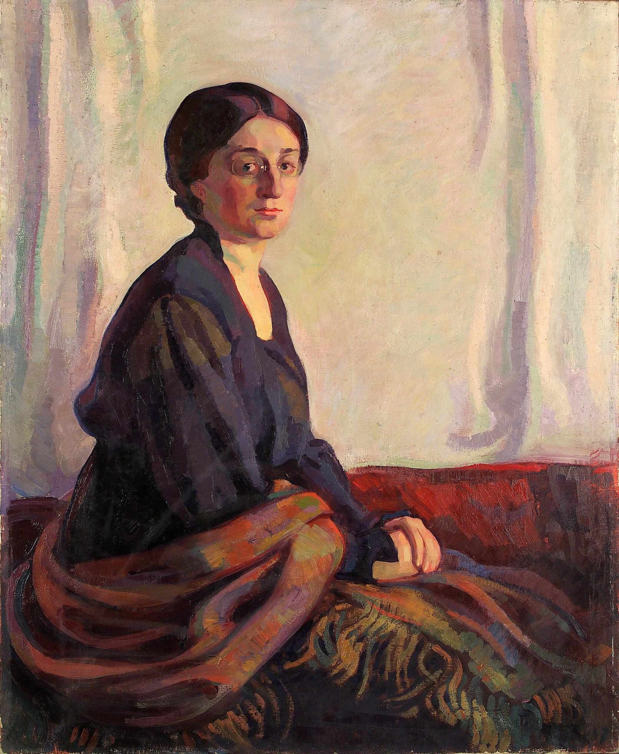 ELLA LÜÜS PORTREE | 1917 | ÕLI LÕUENDIL