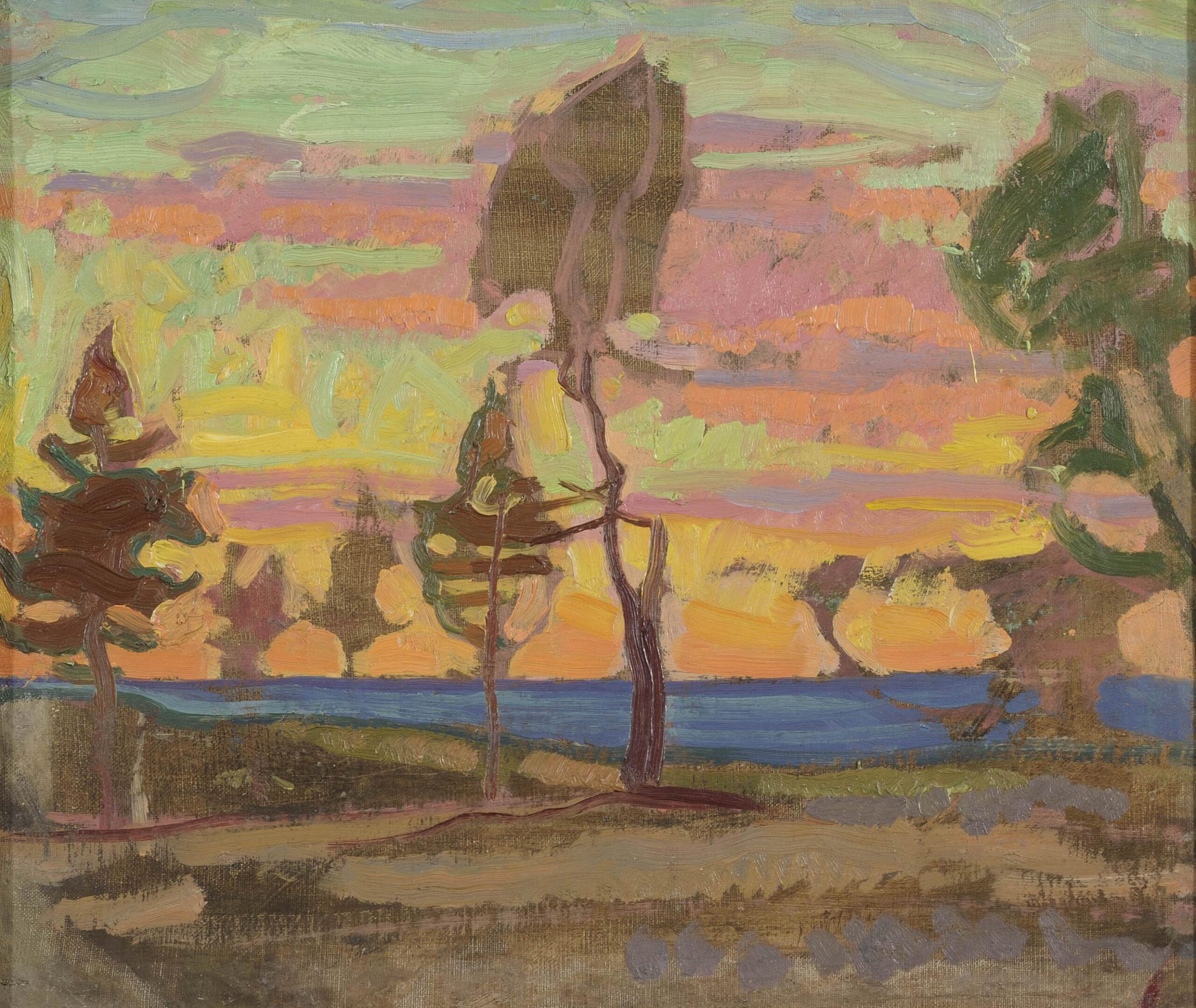 SOOME MAASTIK | 1914 | ÕLI LÕUENDIL