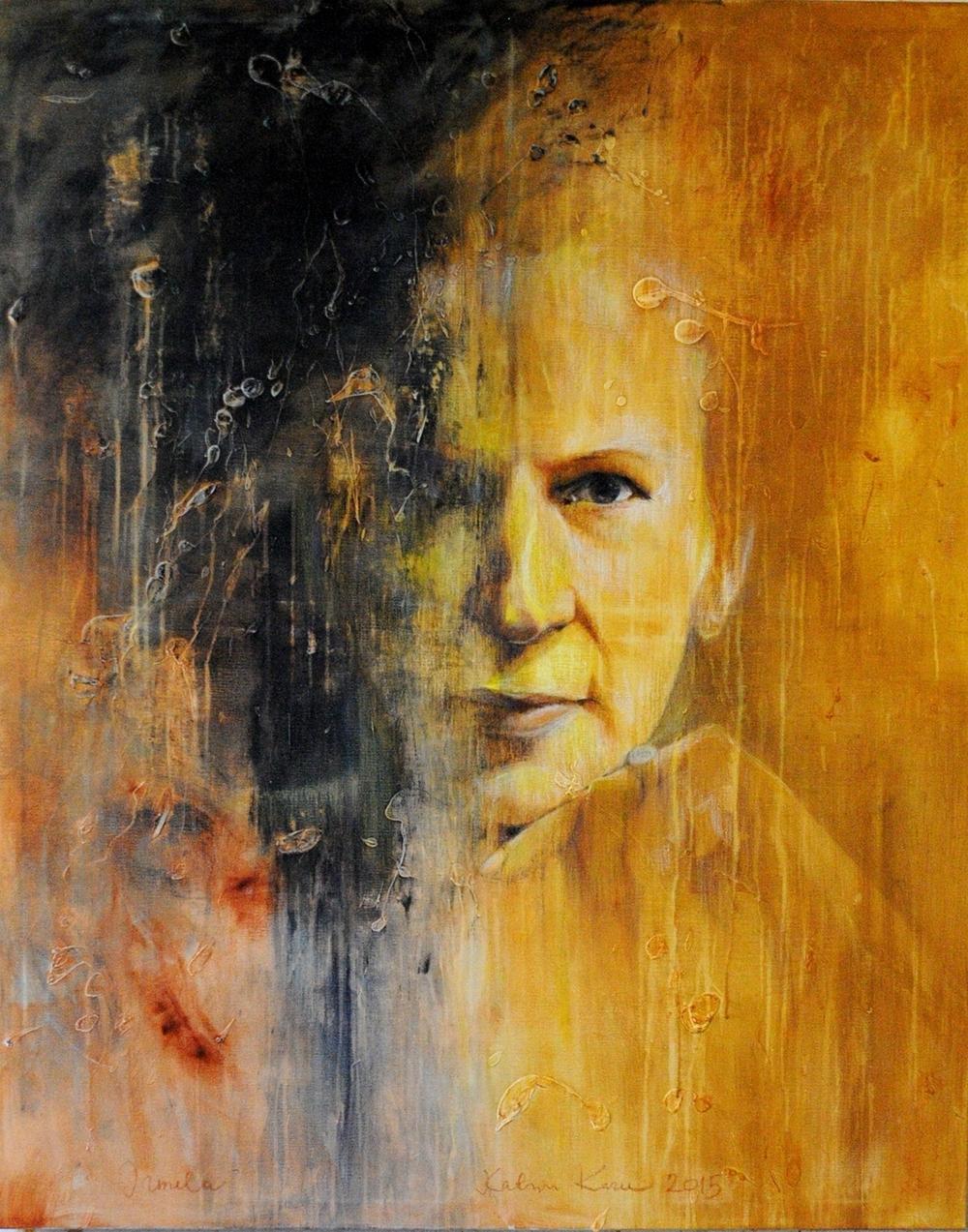 IRMELA | 2015 | Acryl and oil on canvas