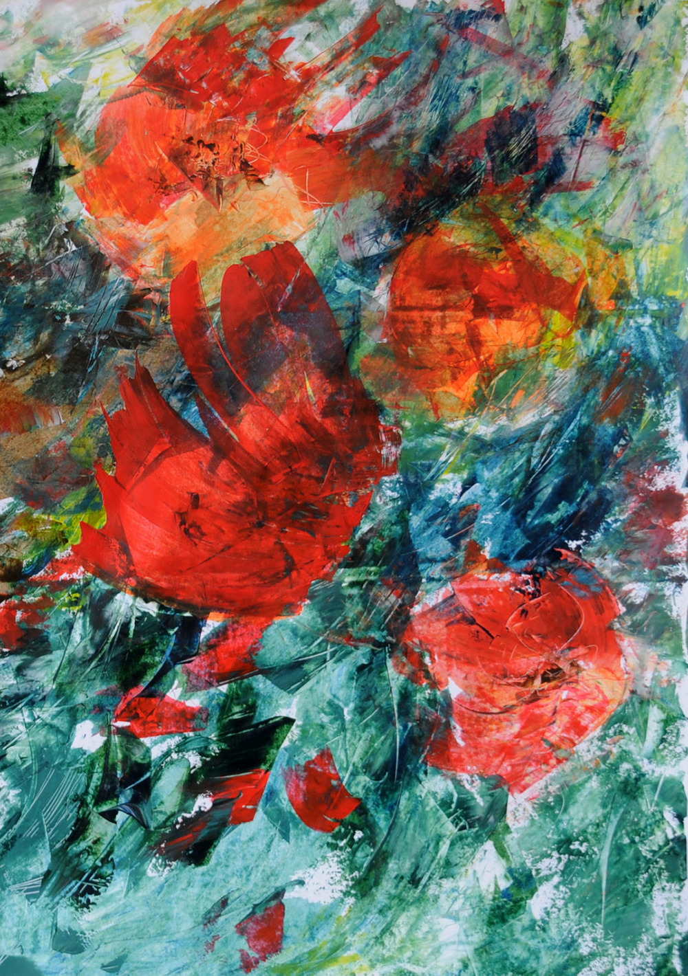 POPPIES | Acryl on paper